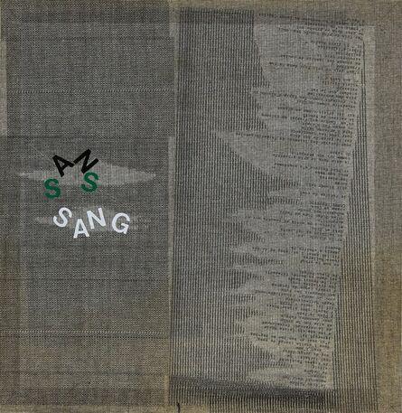Henri Chopin, 'SANS SANG', 2007