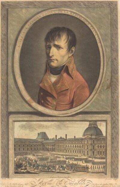 Charles Francois Gabriel Levachez, 'Bonaparte Premier Consul de la Republique Francaise'
