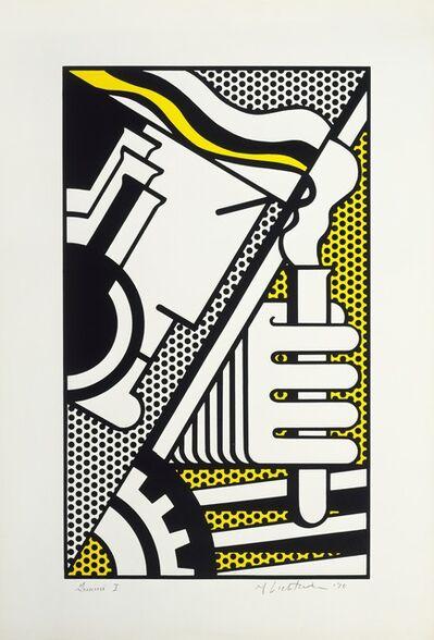 Roy Lichtenstein, 'Chem 1A', 1970