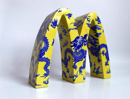Li Lihong, 'McDonald's – CHINA (dragons)', 2008