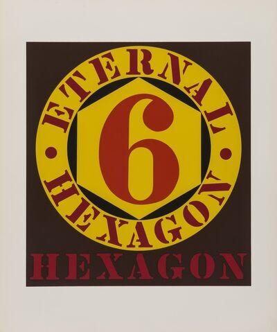 Robert Indiana, 'External Hexagon (Sheehan 33) (from Ten Works by Ten Painters)', 1964