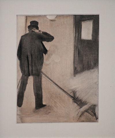 Edgar Degas, 'Ludovic Halevy Backstage', 1938-1939