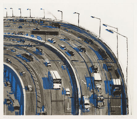 Wayne Thiebaud, 'Freeway Curve', 1979