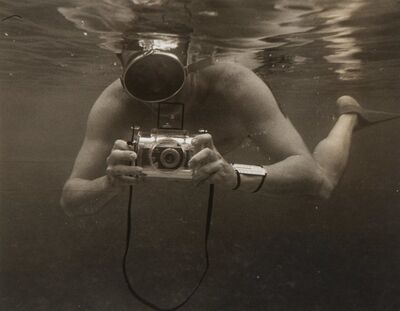 Peter Stackpole, 'Untitled (Photographer Under Water)', circa 1952