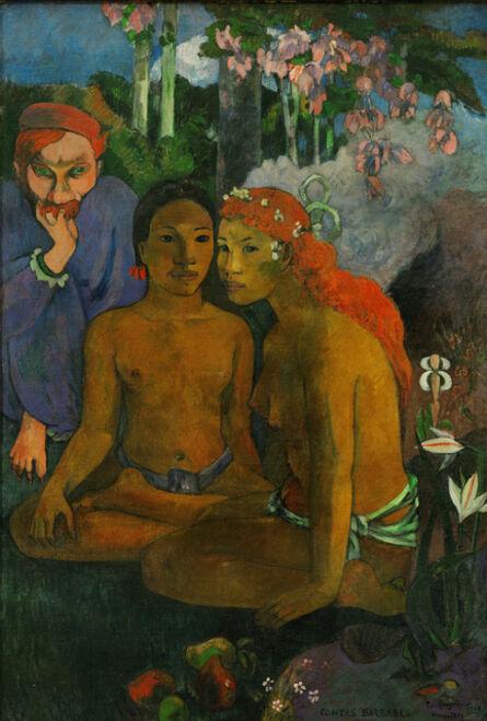 Paul Gauguin, 'Contes Barbares (Exotic Legends)'