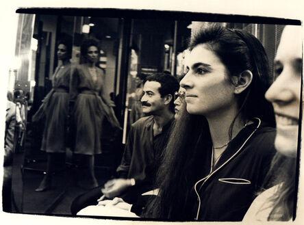 Andy Warhol, 'Andy Warhol, Photograph of Victor Hugo and a Woman at Halston Fashion Show, 1979', 1979