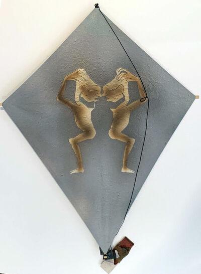 Francisco Toledo, 'Untitled, Two Figures Kite by Francisco Toledo', 2010