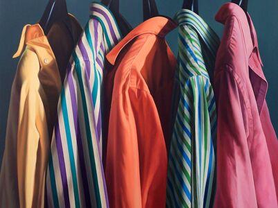 Alberto Magnani, 'Camicie in fila', 2012
