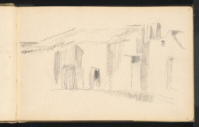 Paul Cézanne, 'Study of Houses', 1879/1882