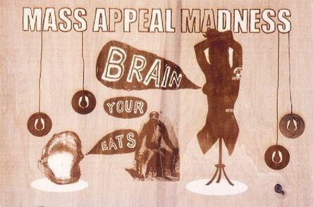 Damien Deroubaix, 'Mass appeal madness eats your brain', 2004