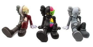 KAWS, 'Companion (Resting Place) (Set of 3), 2013', 2013