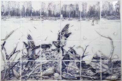 Sibylle Peretti, 'SILVER FIELDS', 2016