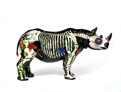 David Mach, 'Rhino Eterno', 2018
