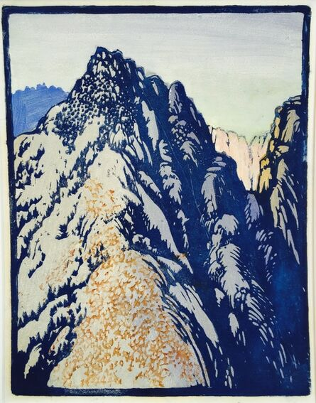 Frances Hammell Gearhart, 'Desert Barrier', ca. 1933