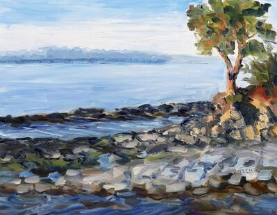 Terrill Welch, 'Evening beside the Sea', 2019