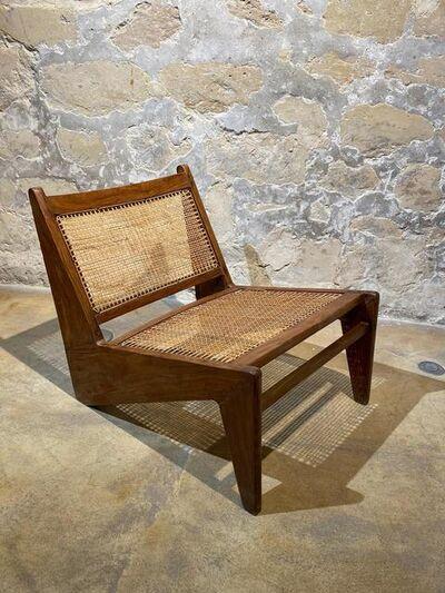 """Pierre Jeanneret, 'Pierre JEANNERET — Easy chair """"Kangaroo"""" ', ca. 1955"""