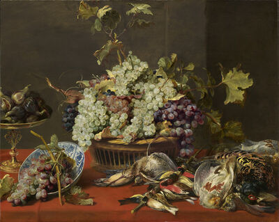 Frans Snyders, 'Still Life with Grapes and Game', ca. 1630