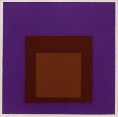 Josef Albers, 'Palatial (From Soft Edge Hard Edge)', 1965