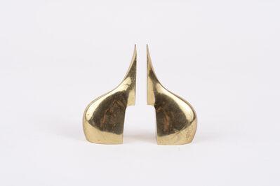 Carl Auböck, 'Brass Bookends', 1950s