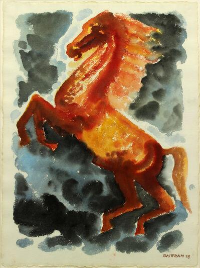 Emil Bisttram, 'Bucephalus', 1958