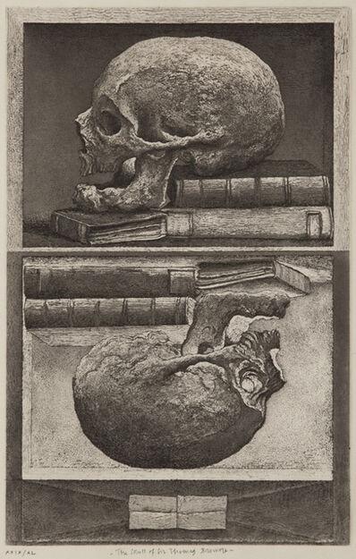 Erik Desmazières, 'The Skull of Sir Thomas Browne', 2010