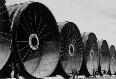 Margaret Bourke-White, 'Diversion Tunnels', 1936