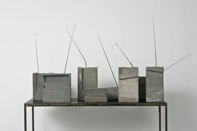 Isa Genzken, 'Weltempfänger (World Receiver)', 1988-1989