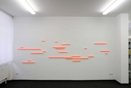 Gisela Hoffmann, 'fuge 16, 21tlg.', 2017
