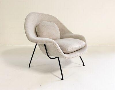 Eero Saarinen, 'Womb Chair in Loro Piana Alpaca Wool', mid 20th century