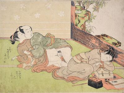 Suzuki Harunobu, 'Afternoon Nap', ca. 1760