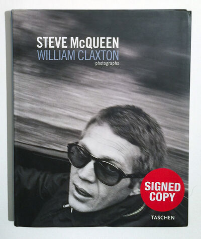 William Claxton, 'Steve McQueen by William Claxton Signed , Perfect Condition ', 2004