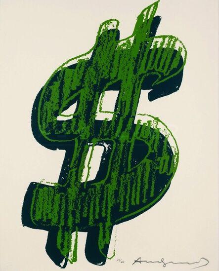 Andy Warhol, 'Dollar Sign, Green (FS II.278)', 1982