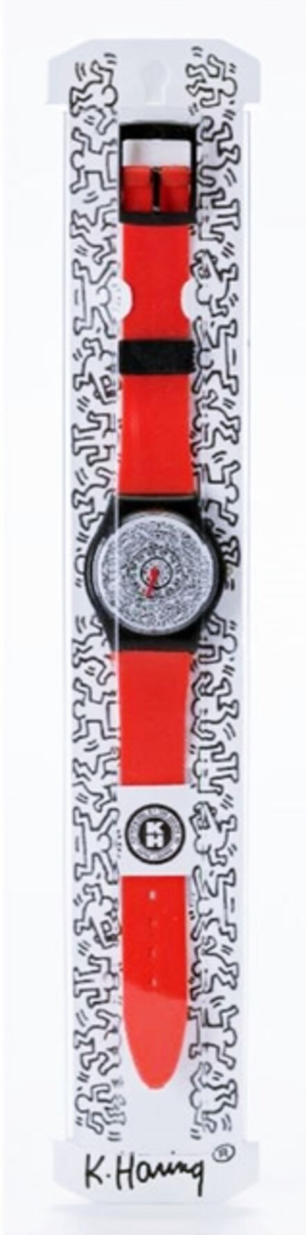 Keith Haring, 'Keith Haring Running Time Wrist Watch (Red)', ca. 1992