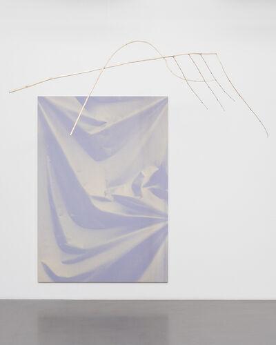 Ulla von Brandenburg, 'Folds and Branch', 2015