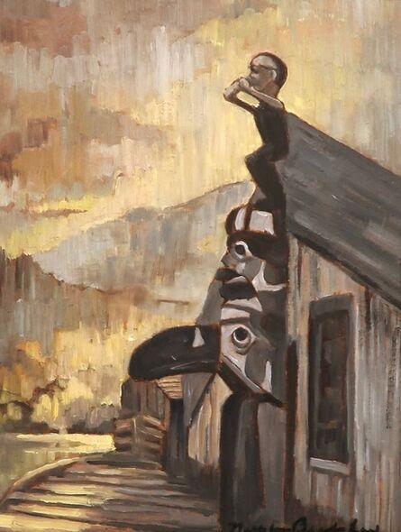 Nell Bradshaw, 'Village of Bella Coola at Komkotes', N.D