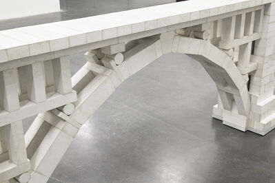 """Chris Burden, 'Three Arch Dry Stack Bridge, 1/4 Scale. Installation view, """"Chris Burden: Extreme Measures"""" at New Museum, New York, 2013', 2013"""