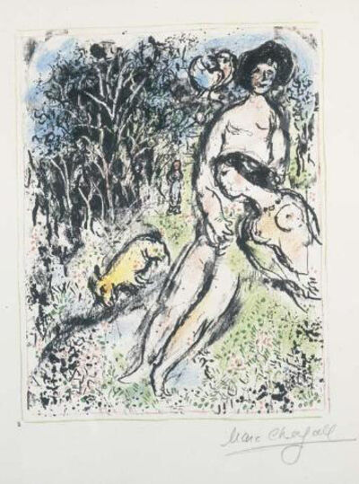 Marc Chagall, 'Country Idyll', ca. 1972