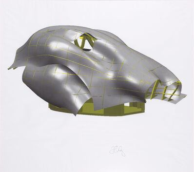 Frank Gehry, 'A Study', 1999