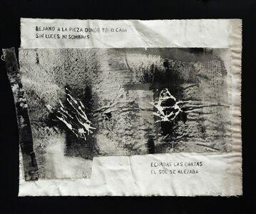 Francisca Aninat, 'Vacíos de Voz II', 2018