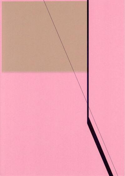 Richard Caldicott, 'Untitled, 2014 (Id. 386) (Abstract drawing)', 2014