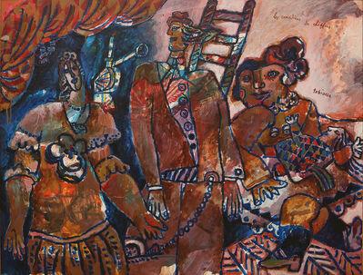 Theo Tobiasse, 'Lescomédiensdechiffons', 1990
