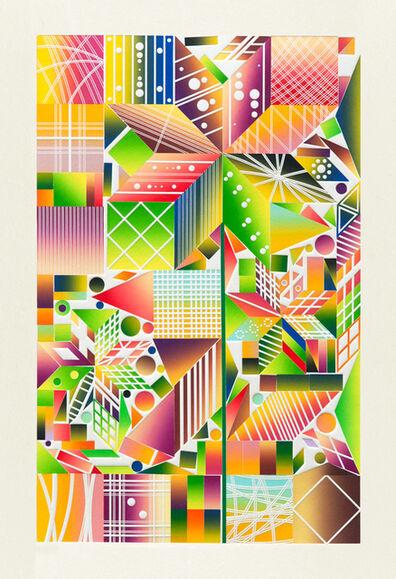 Polly Apfelbaum, 'Atomic Mystic Cosmic 3', 2017