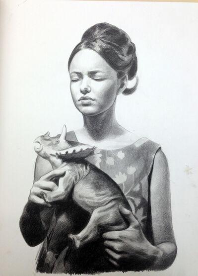 Mercedes Helnwein, 'Karen Douglas', 2013