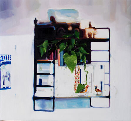 Stephanie Rowe, 'String shelves and other collectables', 2019