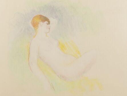 Pierre-Auguste Renoir, 'Nu Endormie au Bras Leve (Vollard 1339)'