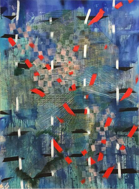 Alyse Rosner, 'Flurry (Blue)', 2018