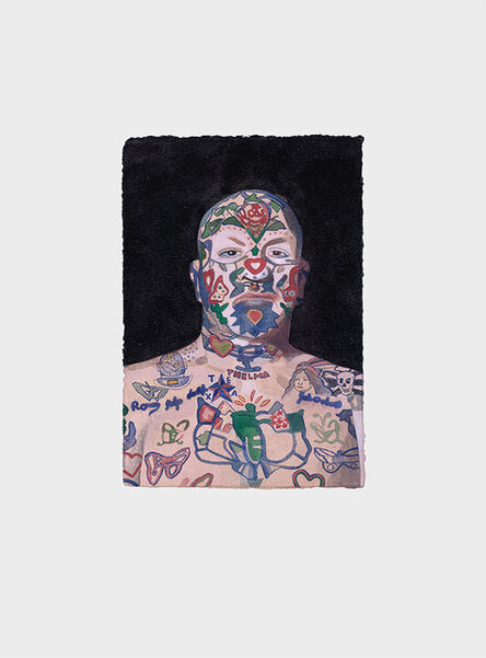 Peter Blake, 'Tattooed People, Ron', 2015