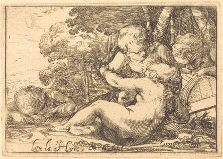 Laurent de La Hyre, 'Four Bacchic Children', 1620s