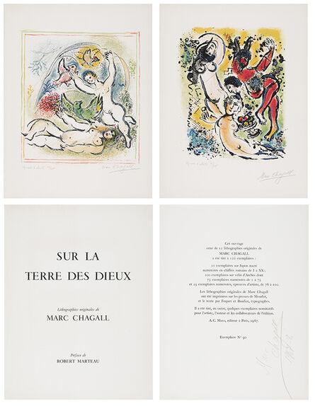 Marc Chagall, 'Sur la Terre des Dieux (Complete Portfolio)', ca. 1967-8