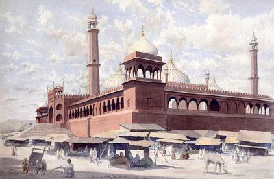 Unknown British, 'Jumma Masjid, Delhi', 1950